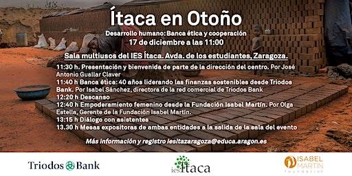 """""""Ítaca en otoño, desarrollo humano: banca ética y cooperación"""""""