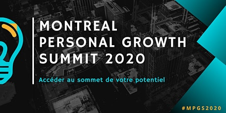 Montreal Personal Growth Summit 2020 - General Admission tickets