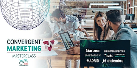 ¿Qué es el Convergent Marketing?  MasterClass Madrid (Atocha) entradas