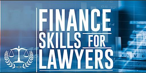 Finance Skills for Lawyers #FSFL