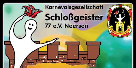 Narrensitzung der KG Schlossgeister 77 e.V. Neersen Tickets