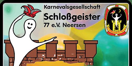 Narrensitzung der KG Schlossgeister 77 e.V. Neersen