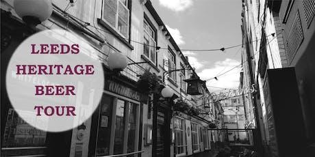 Leeds Heritage Beer Tour tickets