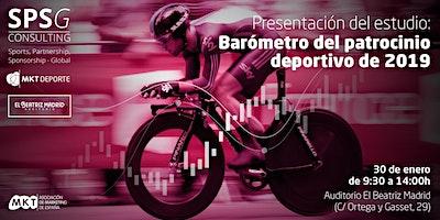 PRESENTACIÓN DEL ESTUDIO: BARÓMETRO DEL PATROCINIO DEPORTIVO ns