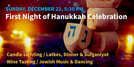 First Night of Hanukkah Celebration tickets
