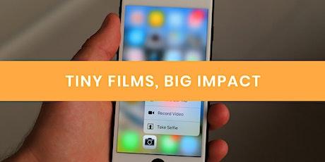 Tiny films, big impact - Kingston tickets