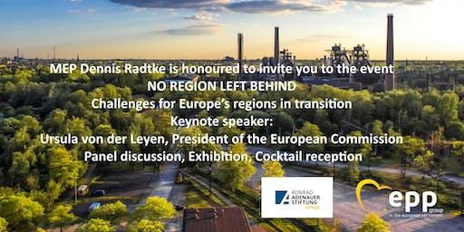 """Event """"No region left behind"""" with Ursula von der Leyen"""