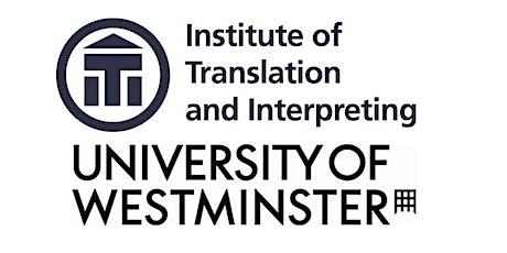 Starting Work as a Translator or Interpreter (SWATI) 23 May 2020 tickets