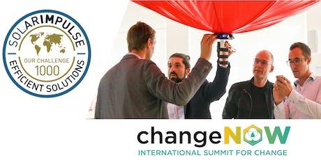 ChangeNOW x Solar Impulse Innovators' Challenge billets