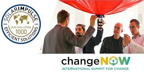 ChangeNOW x Solar Impulse Innovators' Challenge tickets