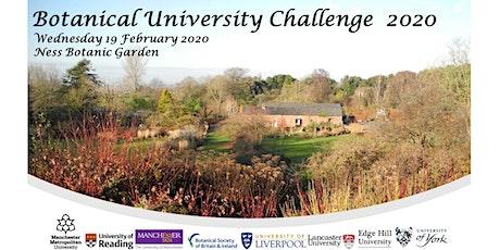 Botanical University Challenge 2020 tickets