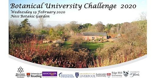 Botanical University Challenge 2020
