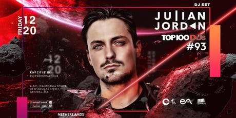 Zentral X EA Present: Julian Jordan(Top 100 DJS #93) tickets
