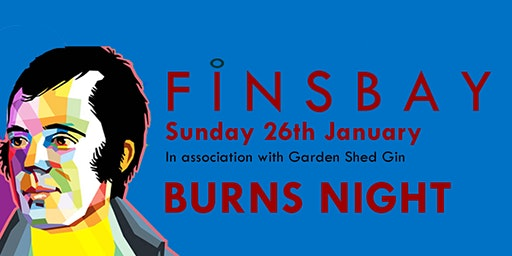 Finsbay Burns night with Al Kellock and guest