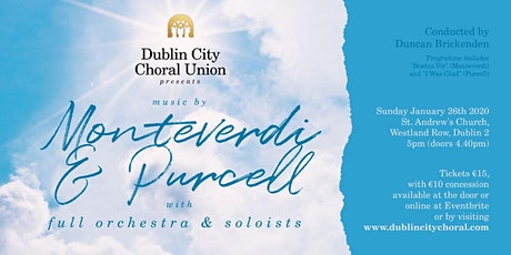 DCCU performs music by Monteverdi and Purcell tickets