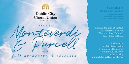 DCCU performs music by Monteverdi and Purcell