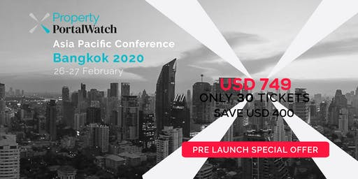 Property Portal Watch Conference Bangkok 2020