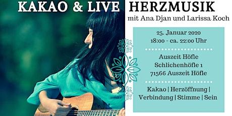 Kakao & Live Herzmusik Tickets