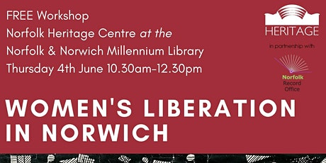 Women's Liberation in Norwich - FREE Workshop tickets
