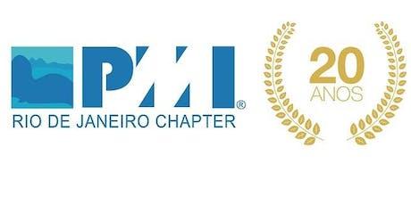 Venha comemorar seu primeiro ano com o PMI-Rio! bilhetes