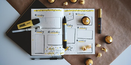 Halls and Wellbeing: Planning for Success Bullet Journaling Workshop tickets