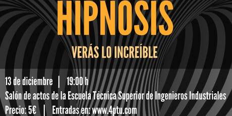 SHOW DE HIPNOSIS entradas