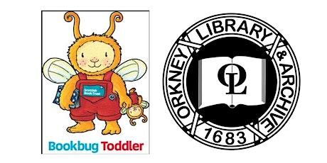 Bookbug Toddler tickets