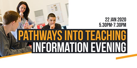Pathways into Teaching Information Evening tickets