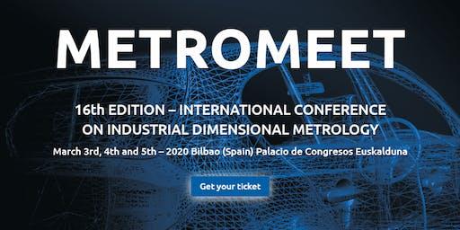 Metromeet   International Conference on Industrial Dimensional Metrology