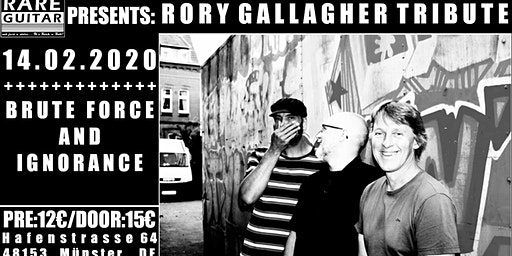 Rory Gallagher Tribute – Brute Force and Ignorance