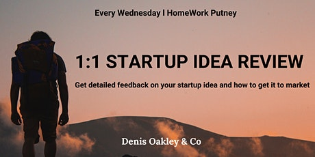 Develop Your Startup Idea tickets
