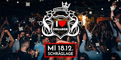 I Love College / X-Mas Party @ Schräglage