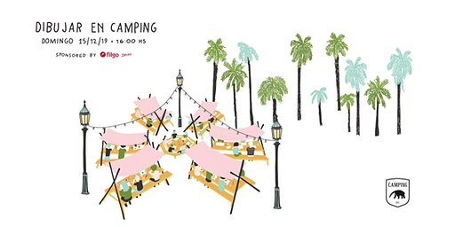 Dibujar en Camping