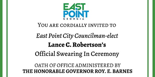 Councilman-Elect Lance C. Robertson's Swearing-in Ceremony 1/4/20
