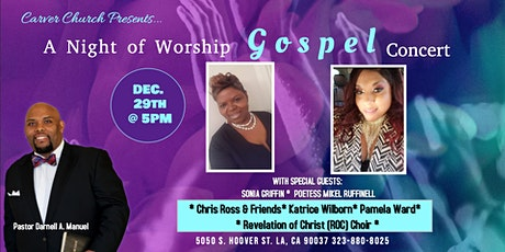 A Night of Worship Gospel Concert tickets