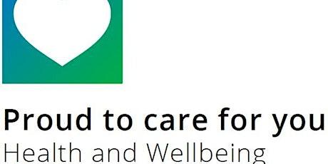 C&W Wellbeing Workshop on Getting a Good Night's Sleep tickets