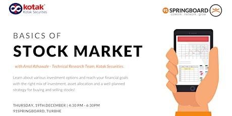 Basics of Stock Market tickets