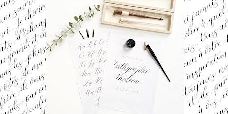Intro Calligraphie Moderne à la plume billets