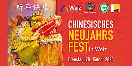 Chinesisches Neujahrsfest Tickets