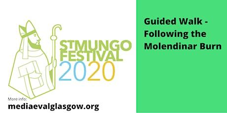FEAST OF St MUNGO walk along Molendinar with Catherine Mooney tickets