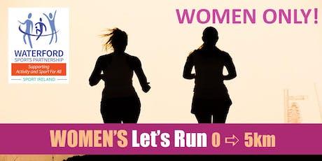 Women's Let's Run 0 - 5km - Kilmacthomas - Jan 2020 tickets