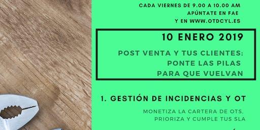 POST VENTA Y TUS CLIENTES: PONTE LAS PILAS PARA QUE VUELVAN (Burgos)