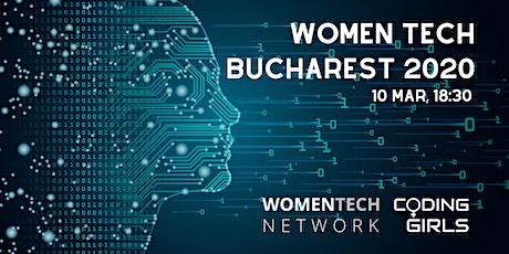 WomenTech Bucharest 2020 (Employer Tickets) Intl Women's Day tickets
