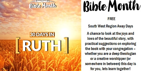 Bible Month Preparation Away Day - Okehampton Fairplace United Church tickets