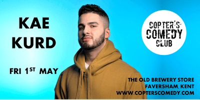 Copter's Comedy Club with Kae Kurd