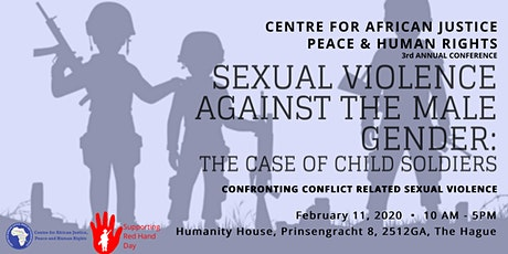Sexual Violence against the Male Gender: The Case of Child Soldiers tickets