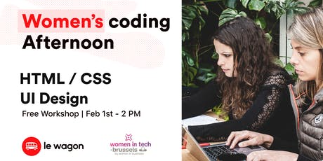 Women coding afternoon - Winter edition tickets