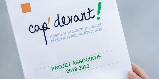 Présentation du projet associatif de Cap' devant !