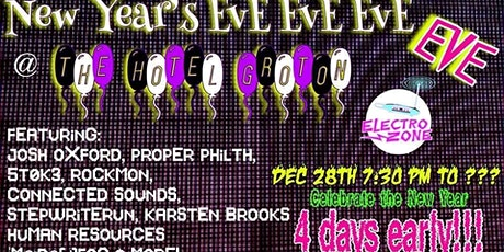 New Year's EvE EvE EvE EvE! tickets