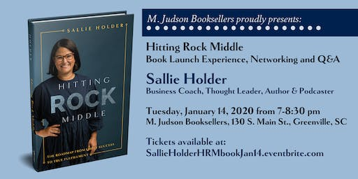 Sallie Holder HITTING ROCK MIDDLE Launch Party presented by M. Judson
